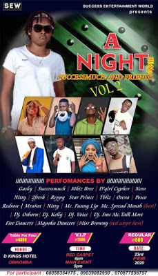 A Night With Success Much and Friends Vol2
