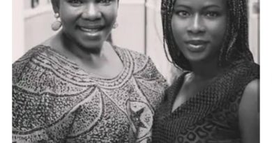 Actress Ada Ameh finally laid her daughter to rest