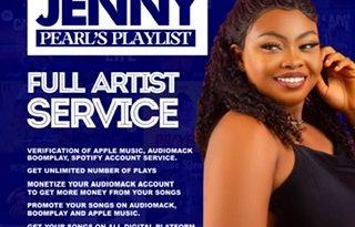 Jenny Pearls Playlist Upgraded
